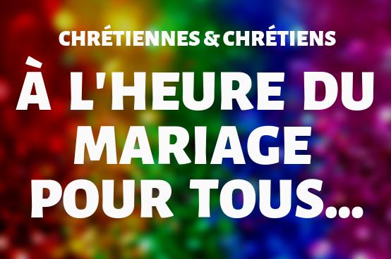 A l'heure du mariage pour tous… Conférence du 20 mars 2019